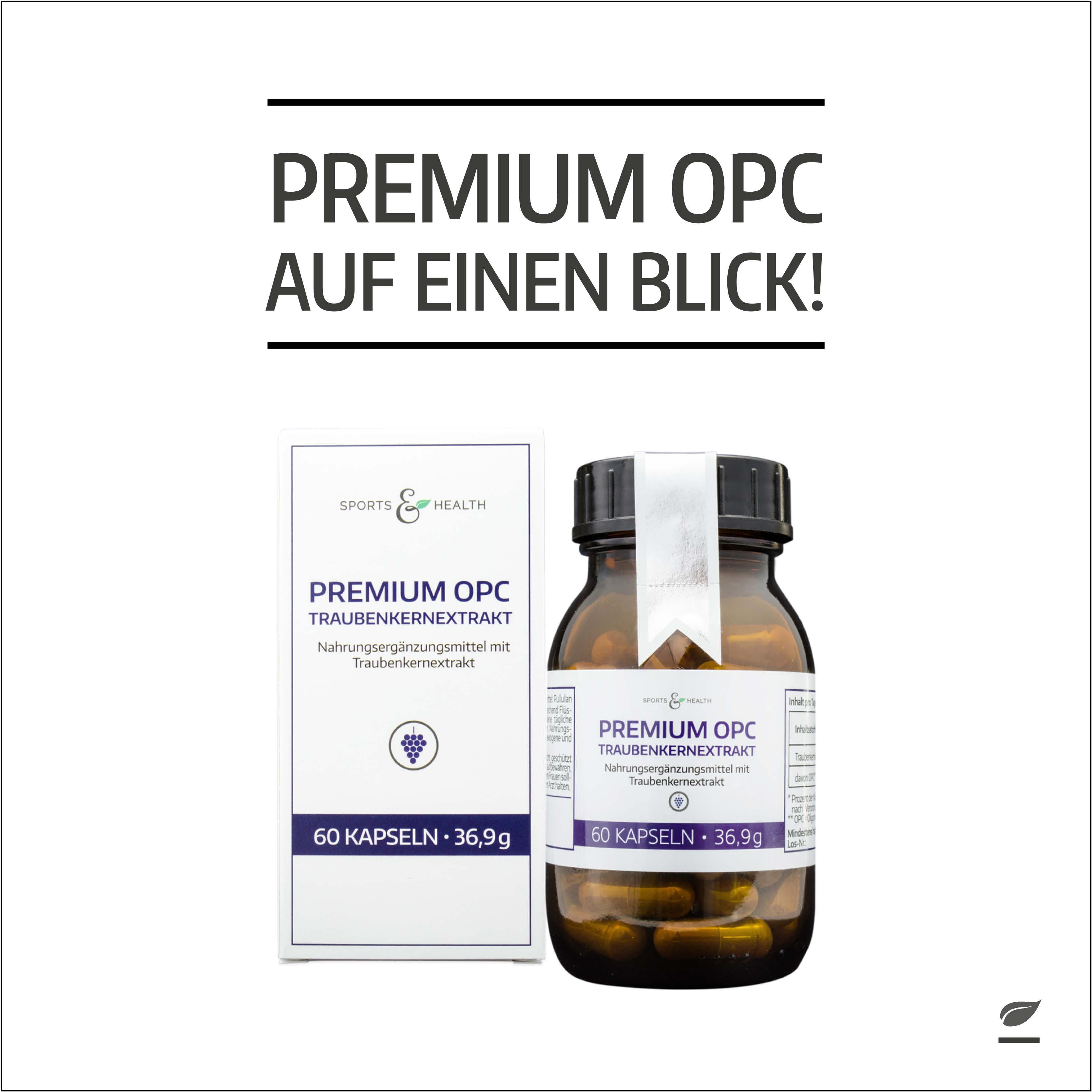 Französischer OPC Traubenkernextrakt in Premiumqualität