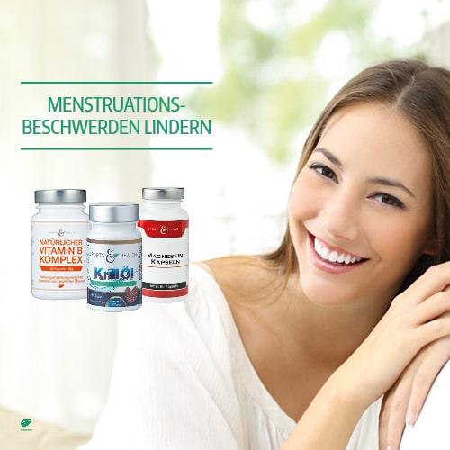 Nahrungsergänzung gegen Menstruationsbeschwerden