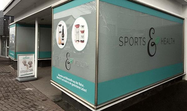 Ladengeschäft Sports & Health