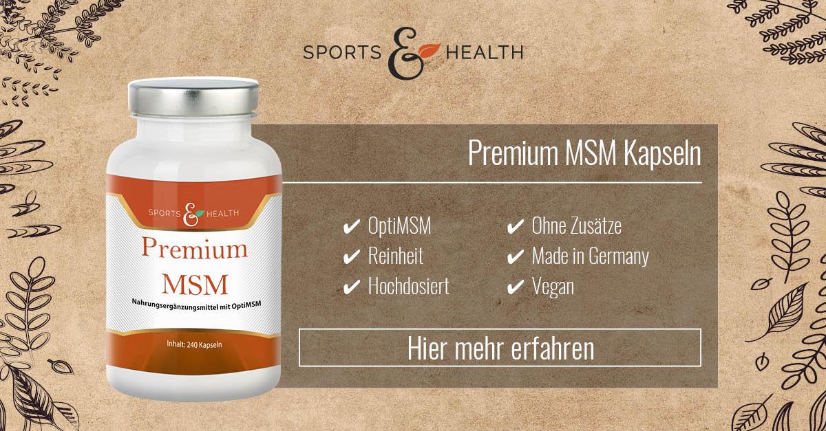 Schulterschmerzen ohne MSM