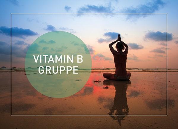 Foto von Vitamin B Nahrungsergänzungsmittel Kapseln