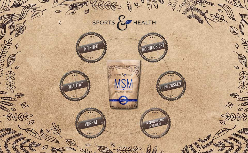 MSM Tabletten