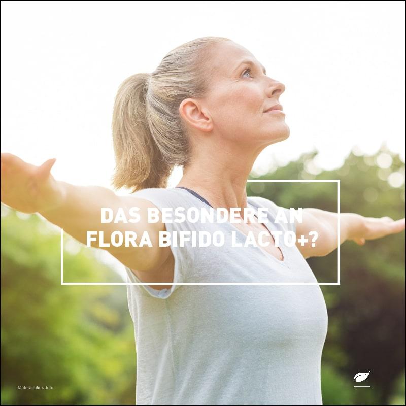 Das Besondere an Flora Bifido Lacto+