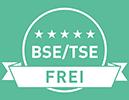 BSE / TSE Frei - D-Mannose