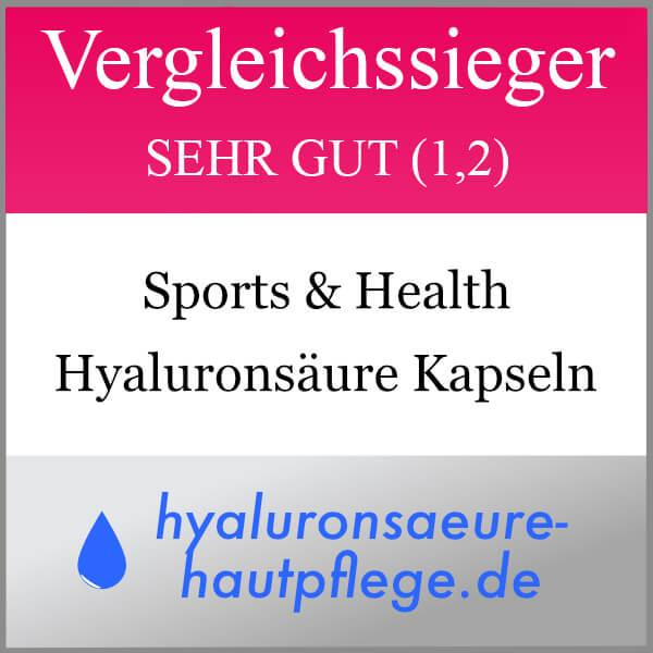 Hyaluronsäure Kapseln 200 mg von Sports&Health3