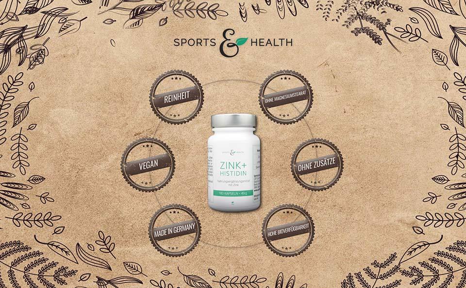 Vegan - Zink + Histidin
