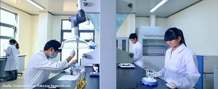 Astaxanthin Produktion Labor